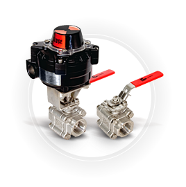 FPS 88 Series Three Piece Valve Small Image